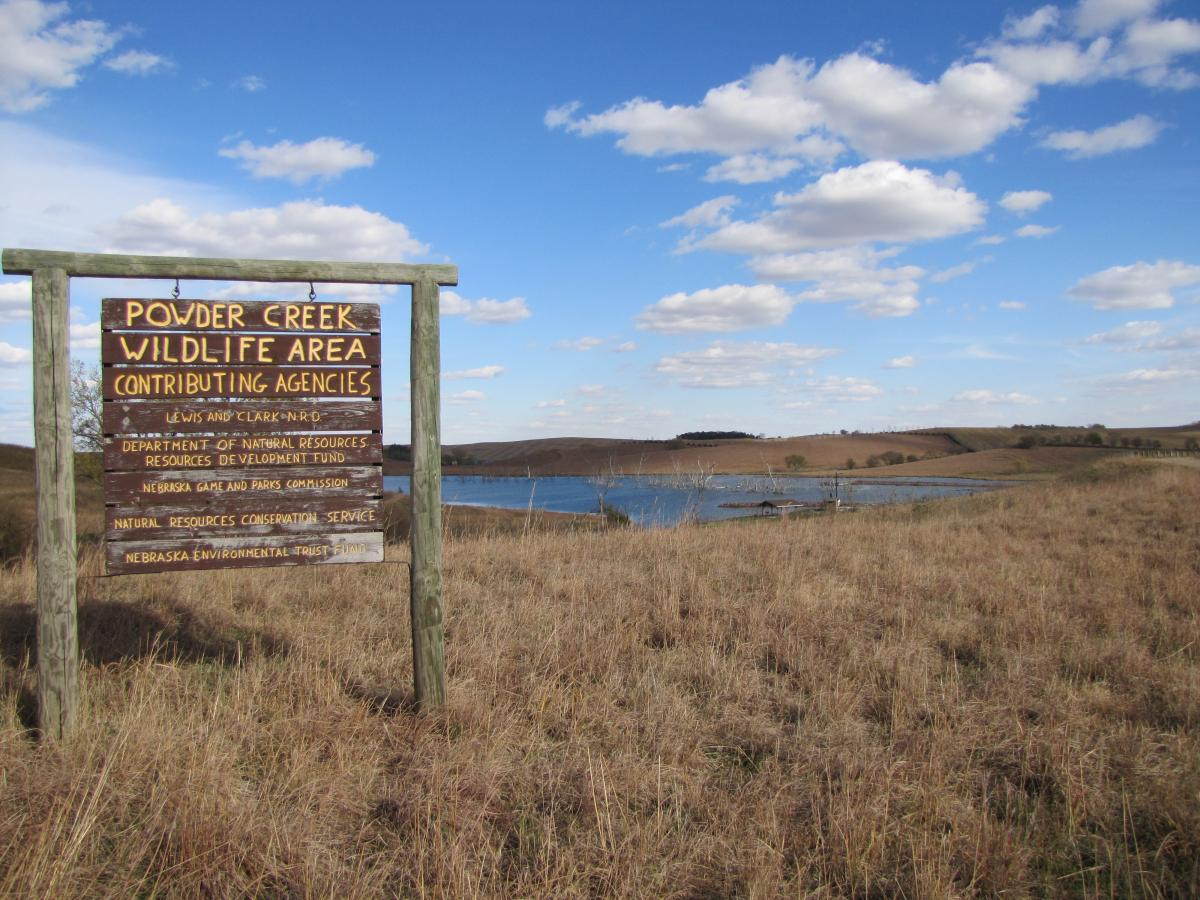 Picture of Powder Creek Wildlife Management Area