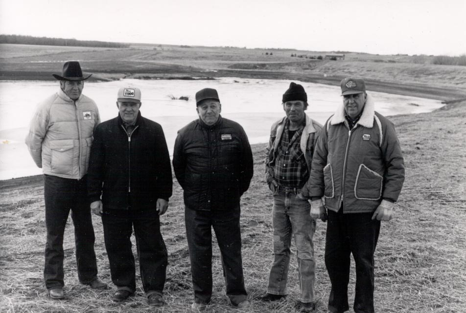 Photo of Landowners of Chalkrock.