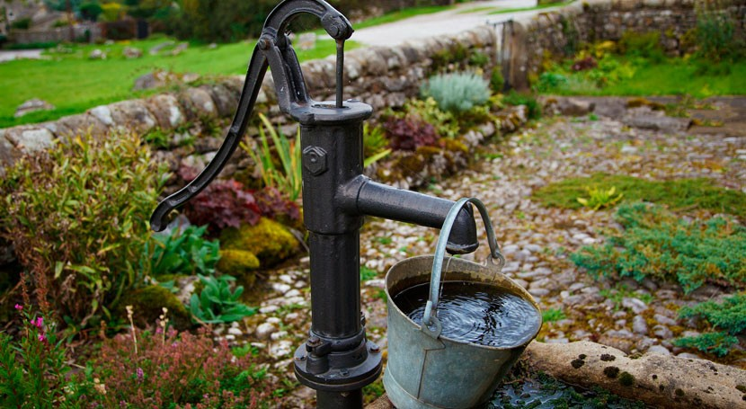 Flooding can contaminate private wells