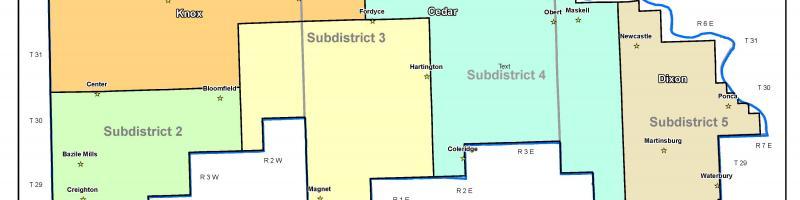 LCNRD Subdistricts
